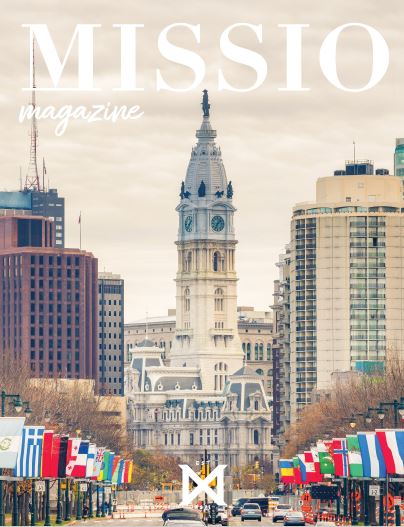 Missio magazine cover